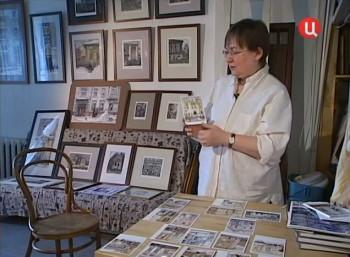В гостях у самой московской из московских художников Алены Дергилевой. ТВ Центр, 2010 год.